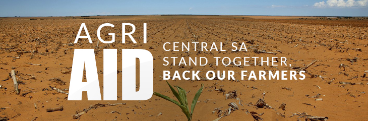 Agri Aid  - Central SA stand together, back our farmers
